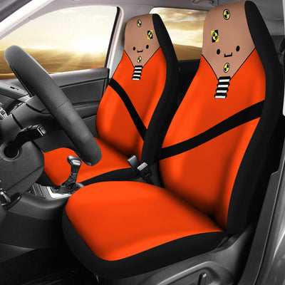 Crash Test Dummies - Car Seat Covers - (Set of 2)