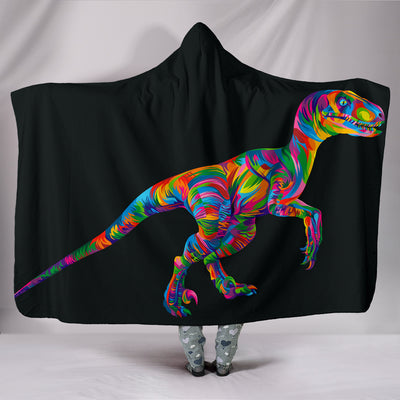 Raptor Hooded Blanket