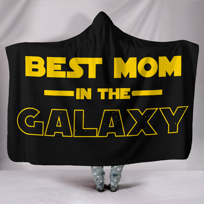 Best Mom - Hooded Blanket