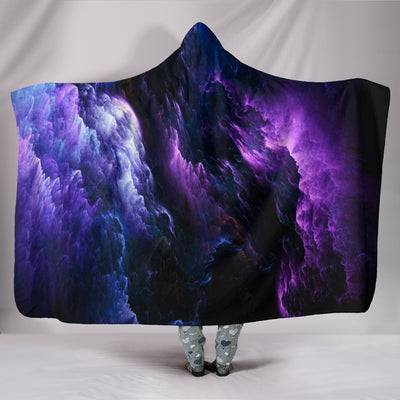 Dark Galaxy - Hooded Blanket