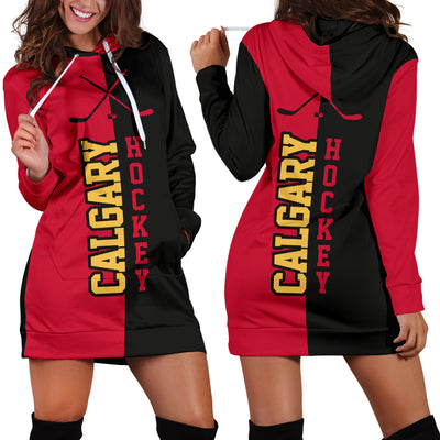 Calgary Hockey - Hoodie Dress