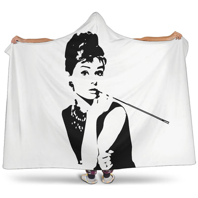 Breakfast At Tiffany's - Hooded Blanket