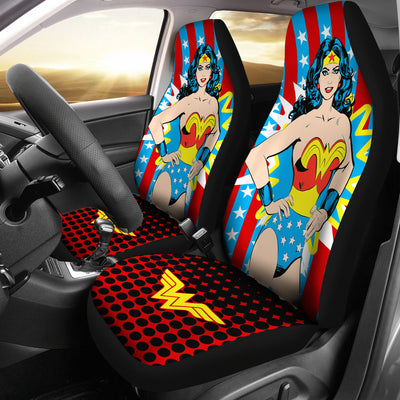 Wonder Woman - Car Seat Cover (Set of 2)