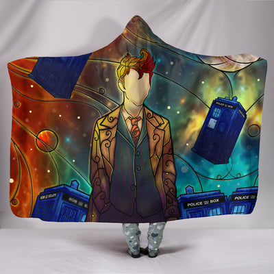 Dr Who - Hooded Blanket