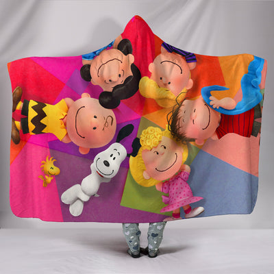 Snoopy Family - Hooded Blanket