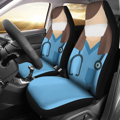 Nurse - Car Seat Covers - (Set of 2)