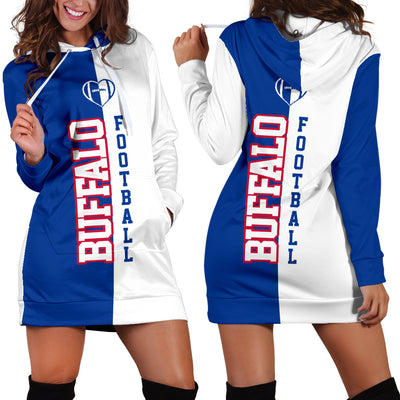 Buffalo Football - Hoodie Dress