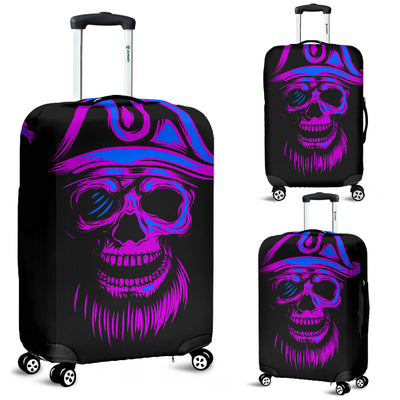 Purple Skull - Luggage Covers