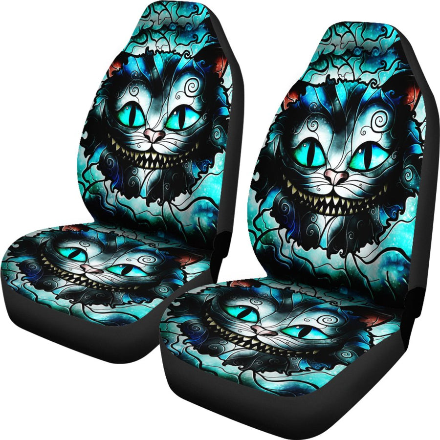We're All Mad Here V2 - Car Seat Covers - (Set of 2)