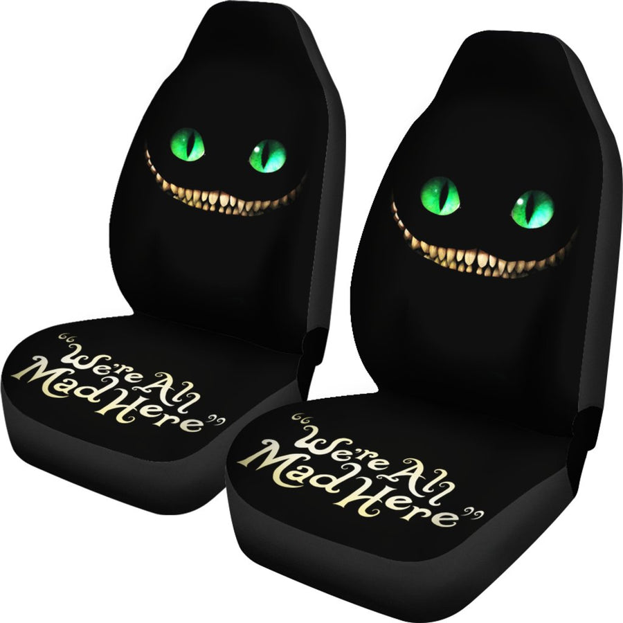 We're All Mad Here V3 - Car Seat Covers - (Set of 2)