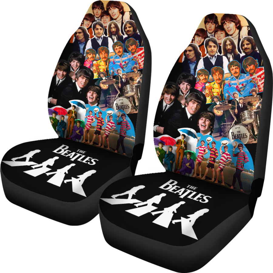 The Beatles - Car Seat Covers  (Set of 2)