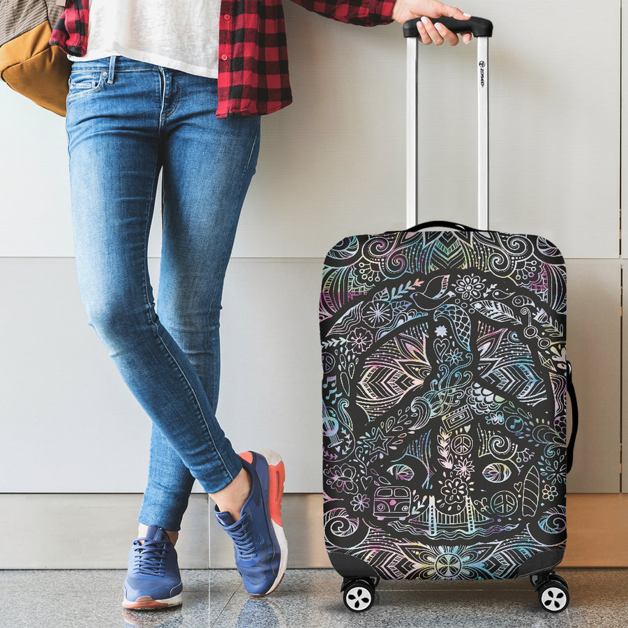 Peace Mandala - Luggage Covers