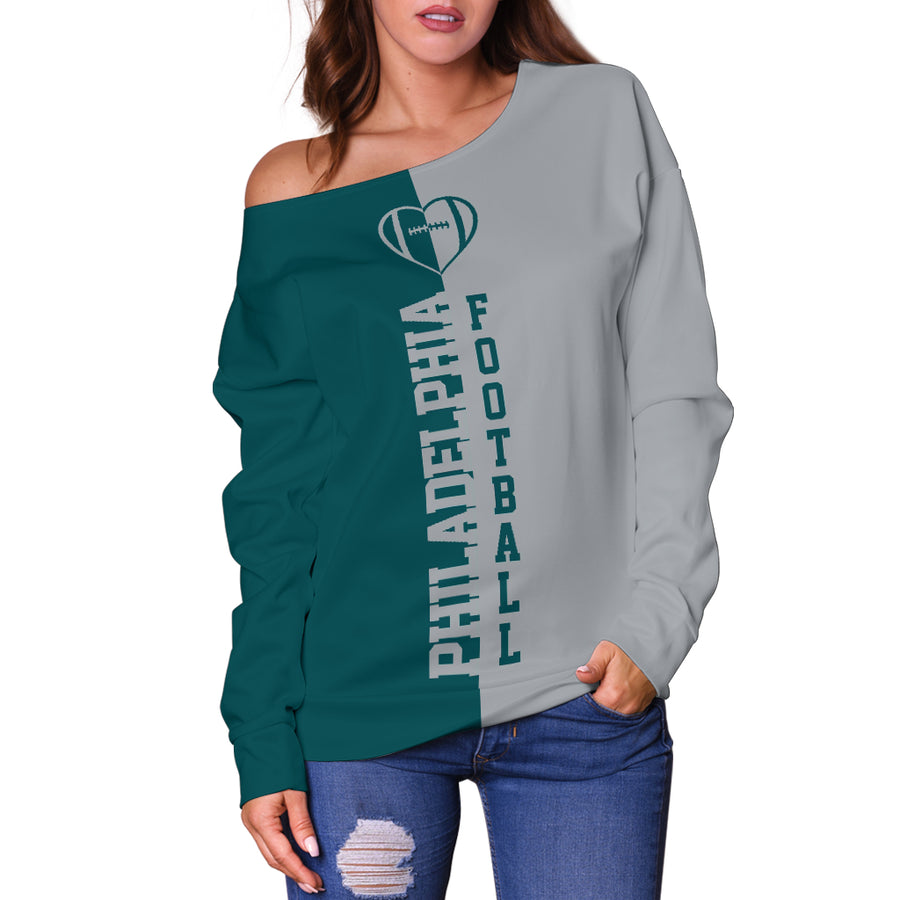 Philadelphia - Off Shoulder Sweater