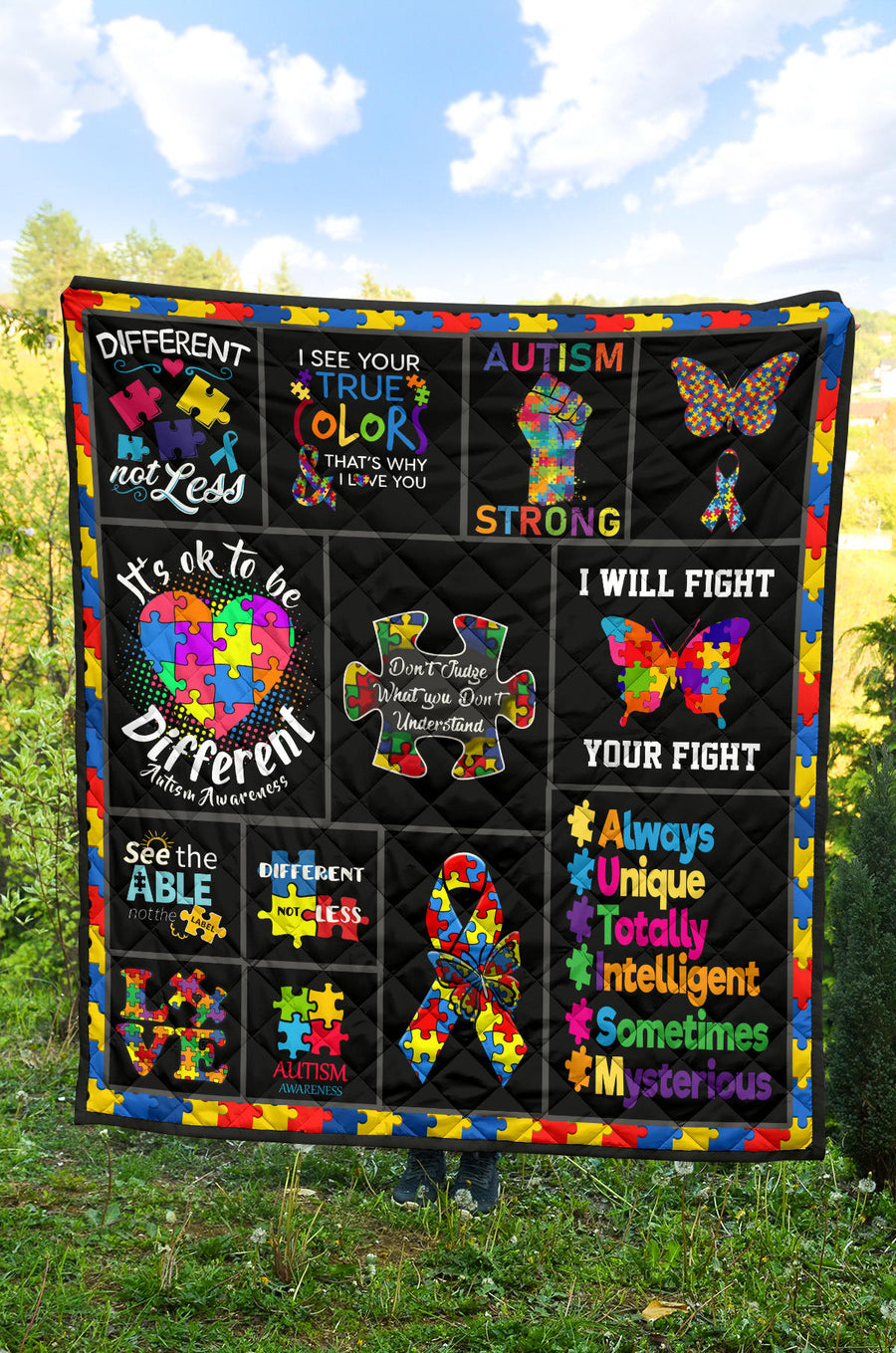 Autism Awareness - Premium Quilt