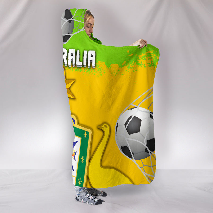 Australia World Cup - Hooded Blanket