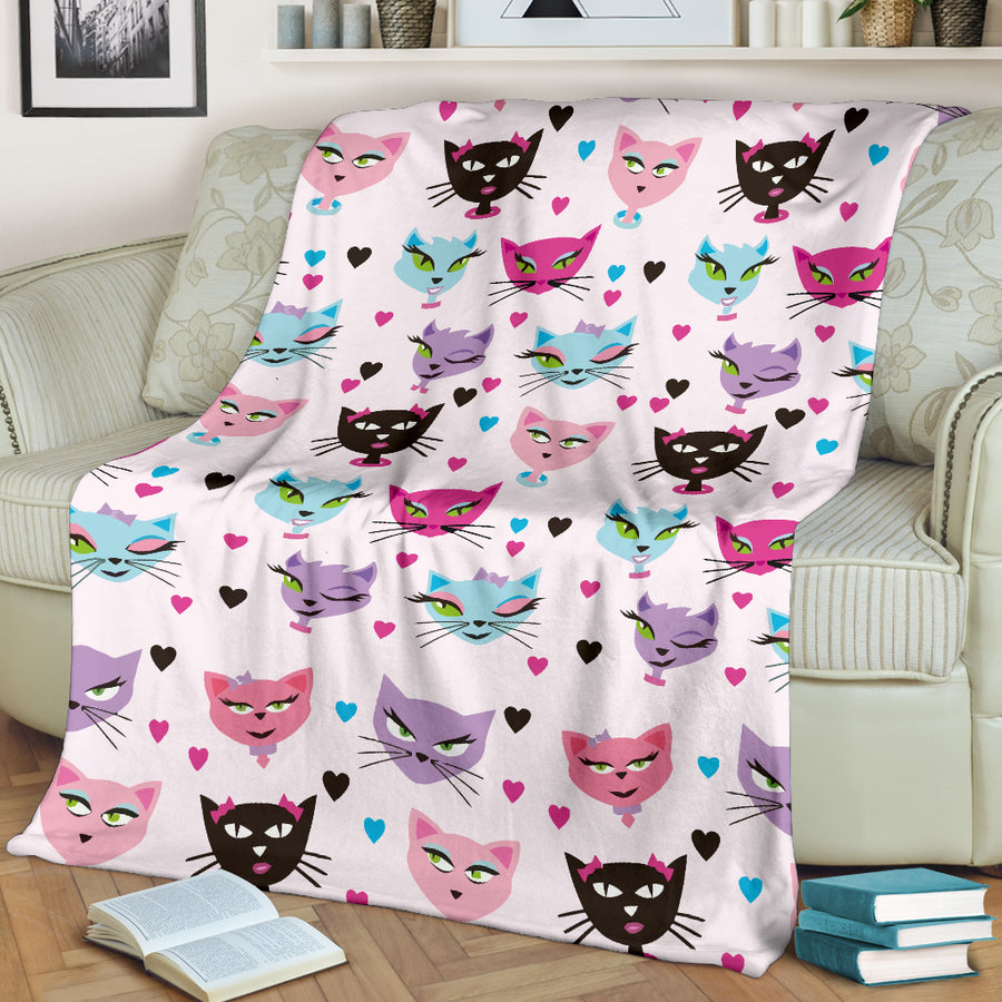 Kitty Cat - Premium Blanket