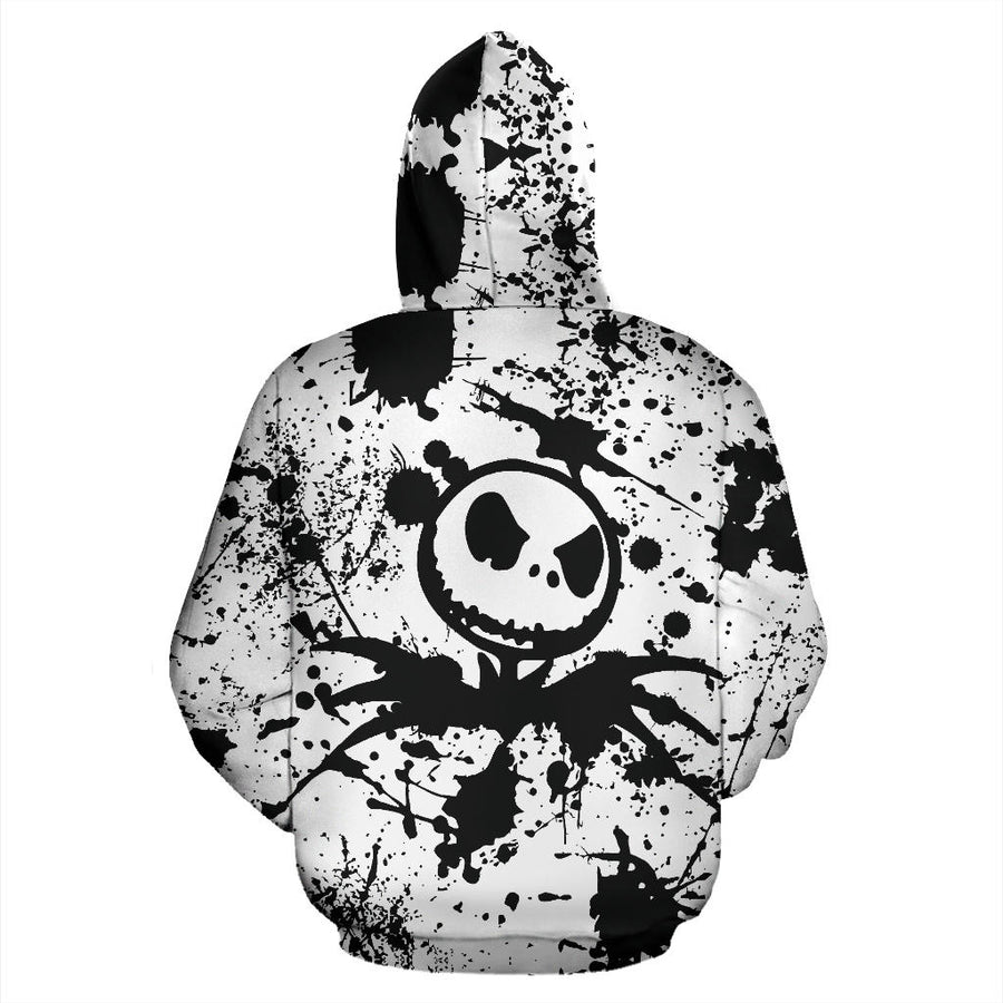 Jack Skellington - Zip-Up Hoodie