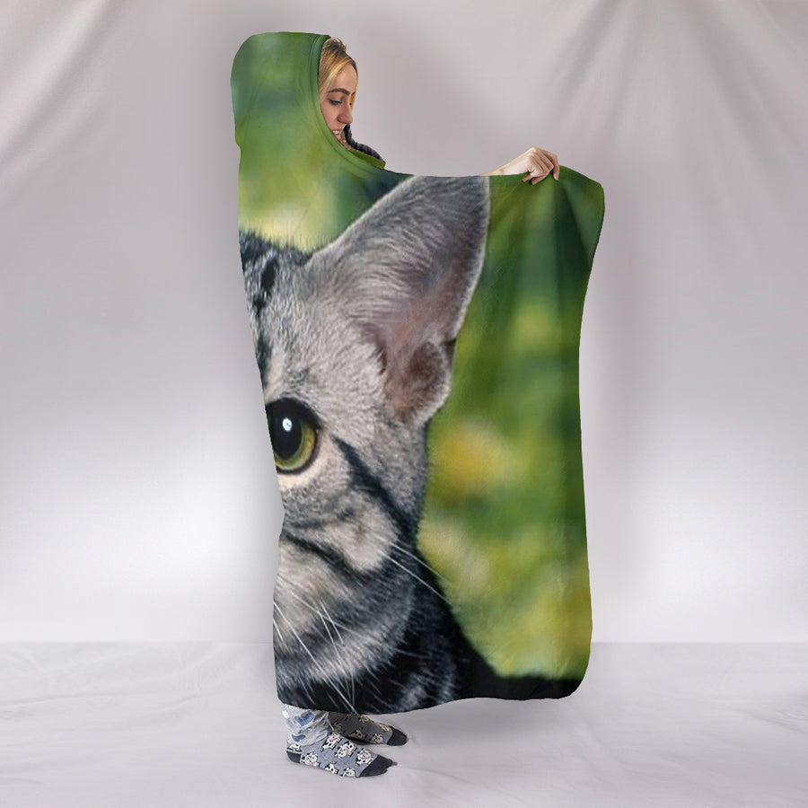 Jack the Cat - Hooded Blanket