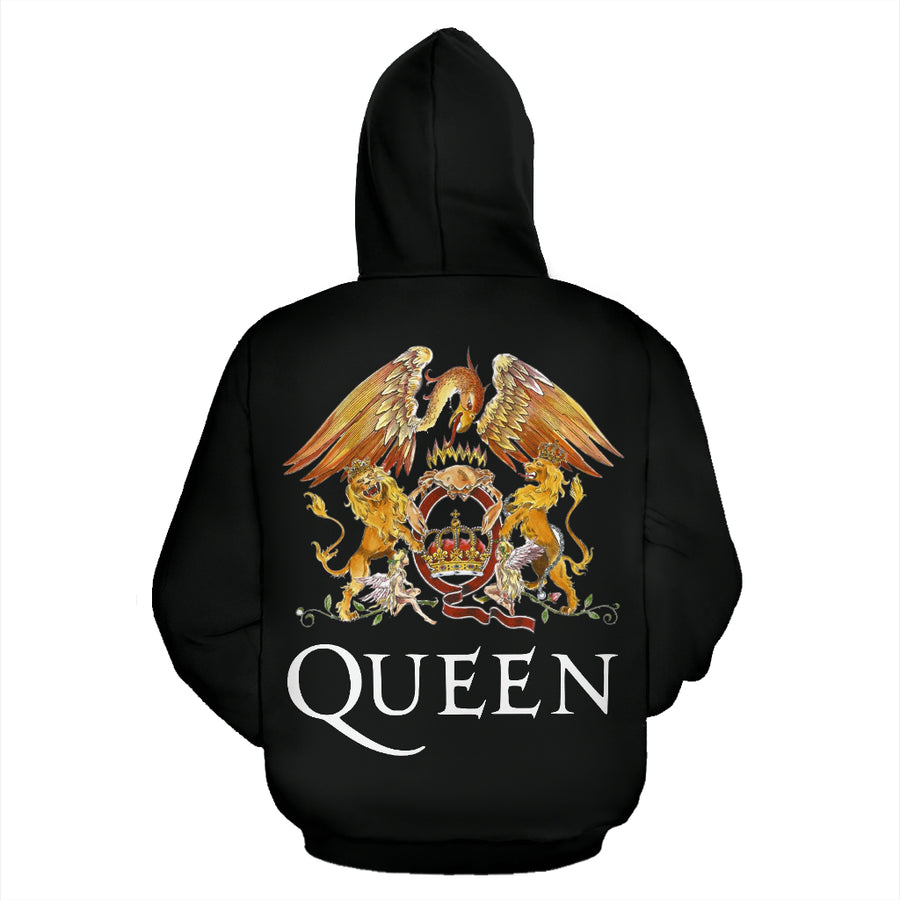 Freddie Mercury - Queen - Zip-Up Hoodie