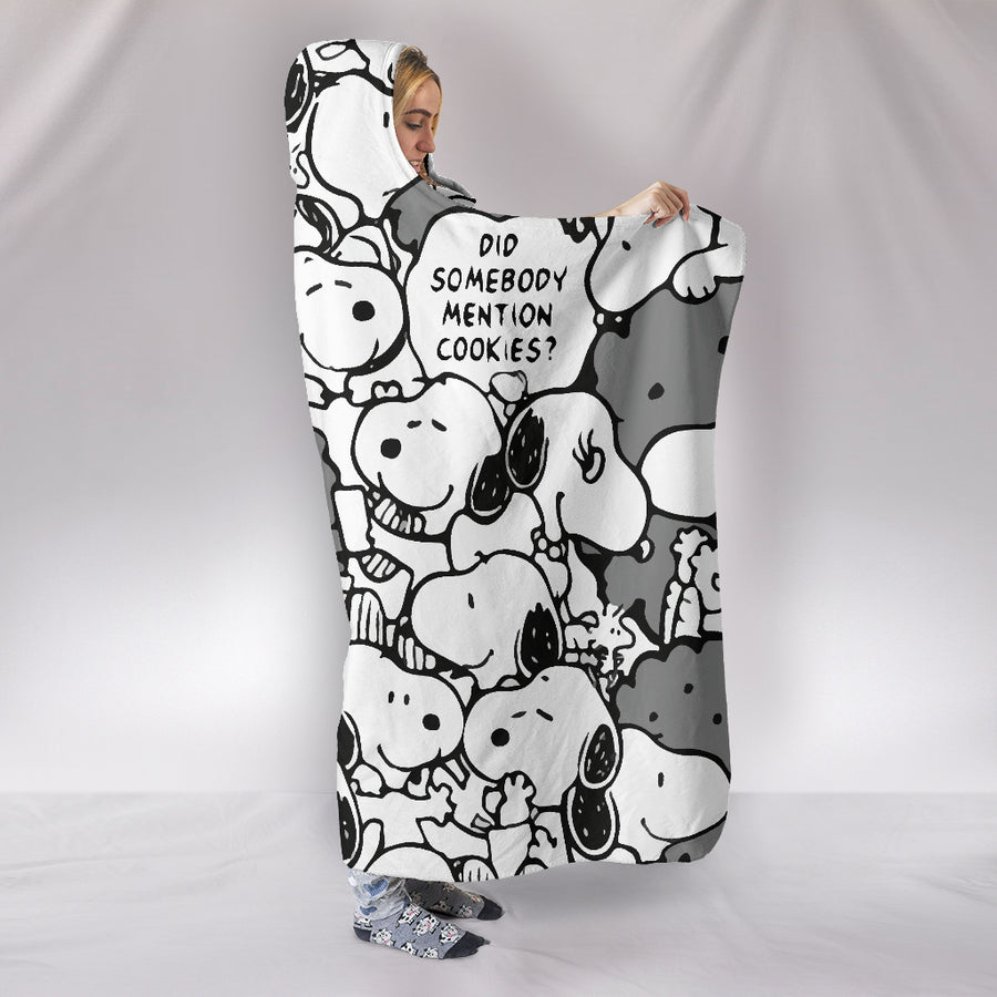 Snoopy - Hooded Blanket