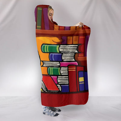 Bookworm Snoopy - Hooded Blanket
