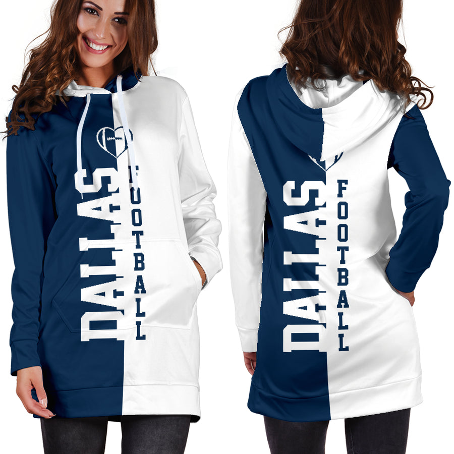 Dallas Football - Hoodie Dress