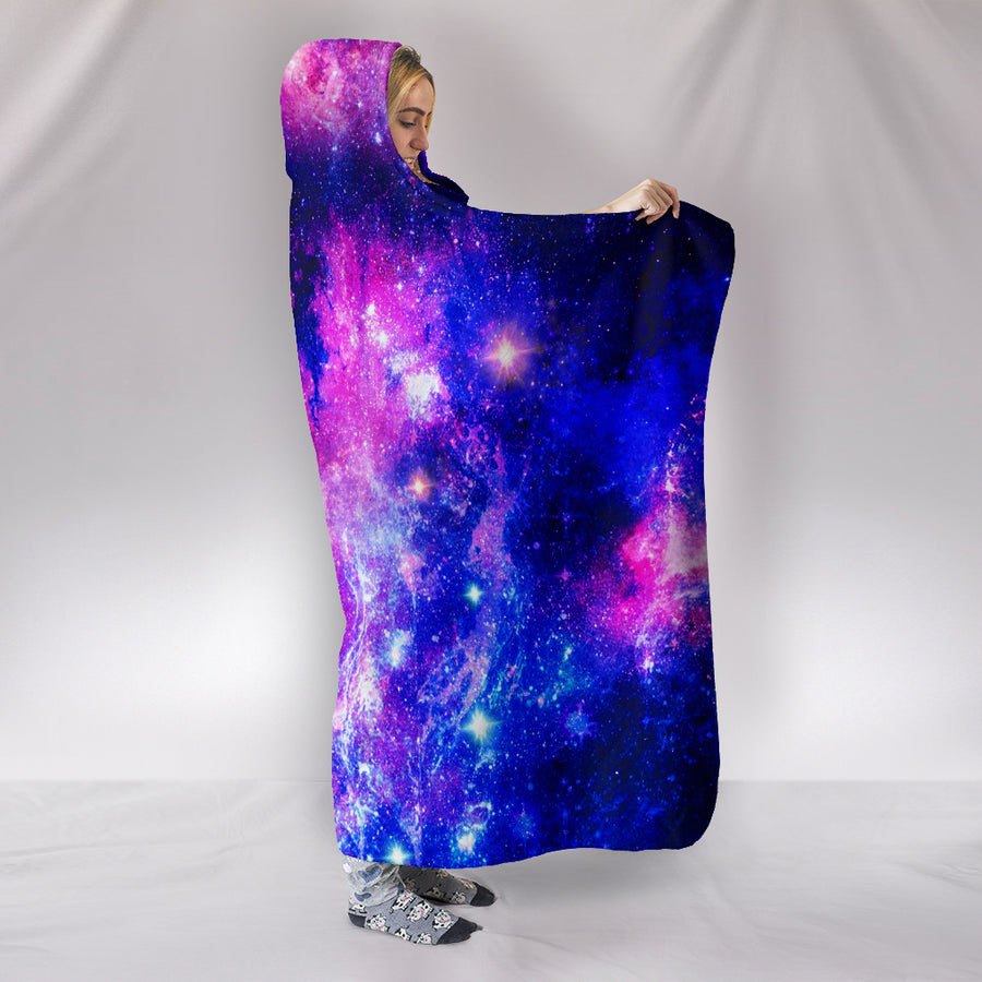 Galaxy Paradise - Hooded Blanket