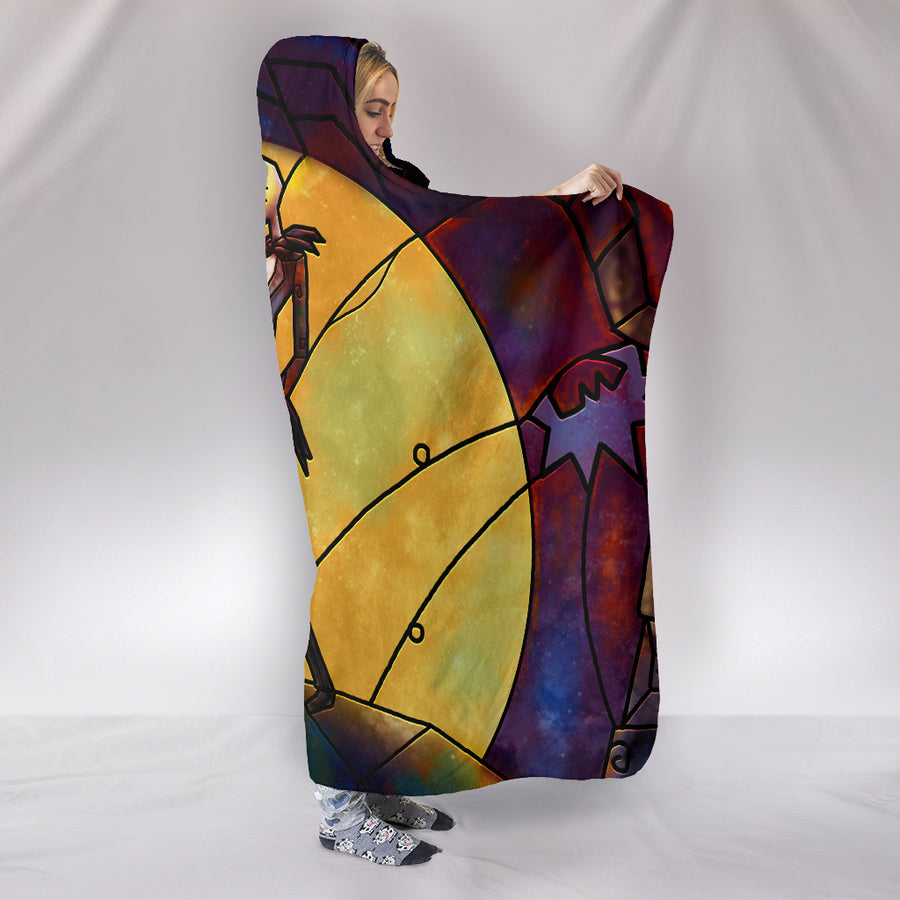TNBC Jack and Sally - Hooded Blanket