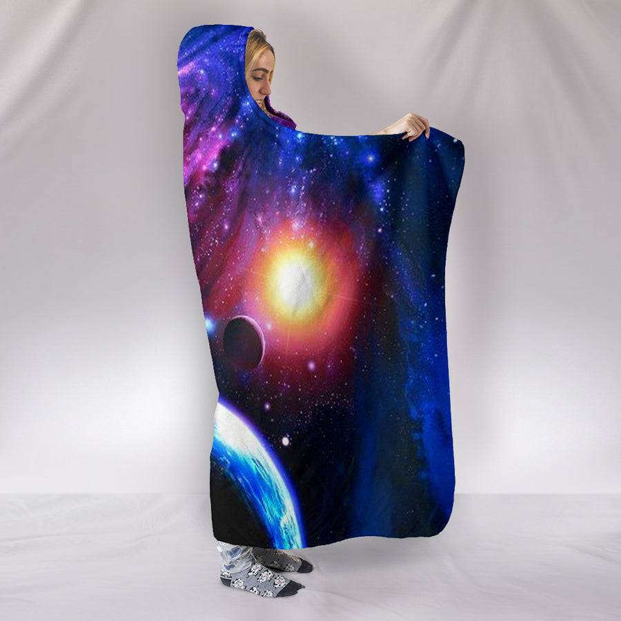Galaxy - Hooded Blanket