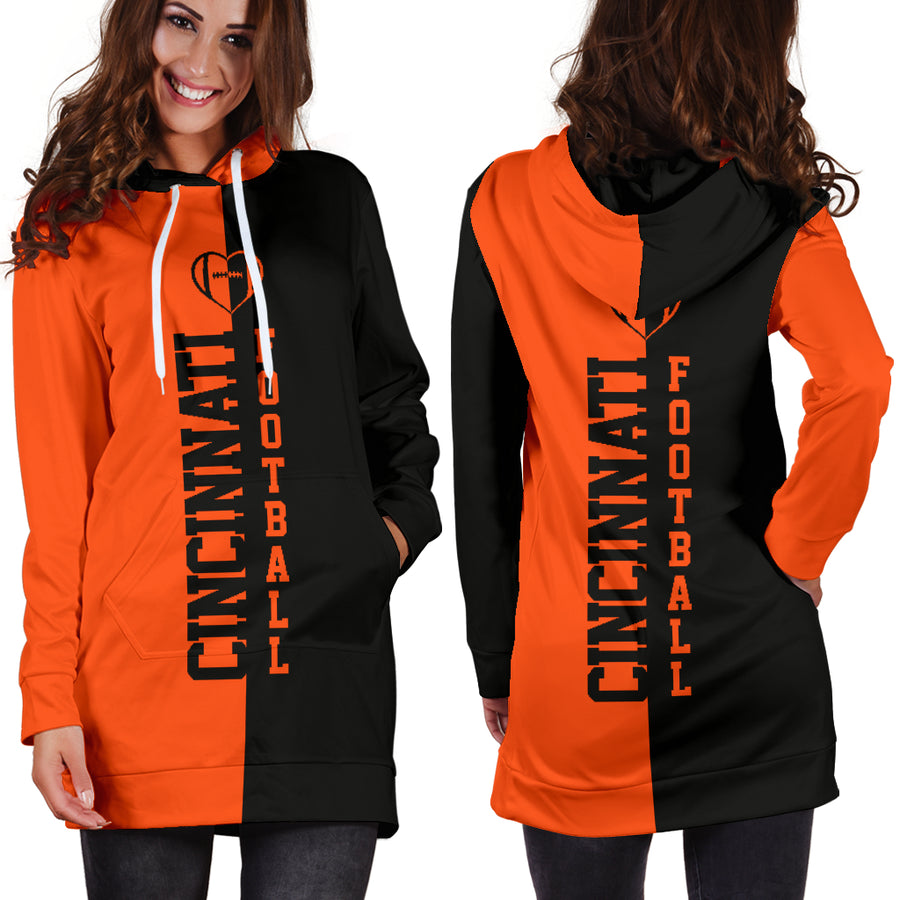 Cincinnati Football - Hoodie Dress