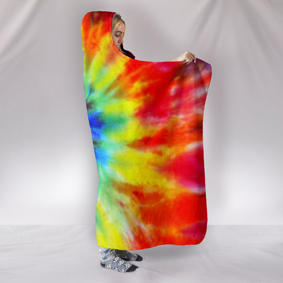 Tie Dye - Hooded Blanket