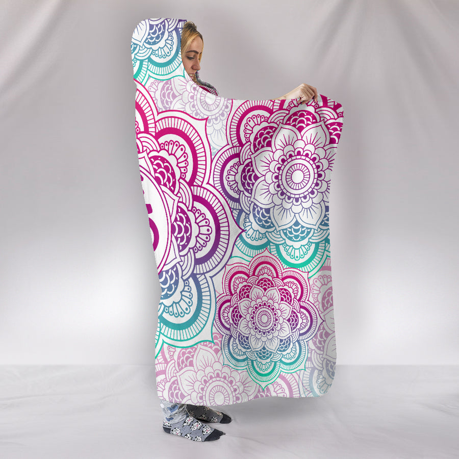 Bright Om - Hooded Blanket