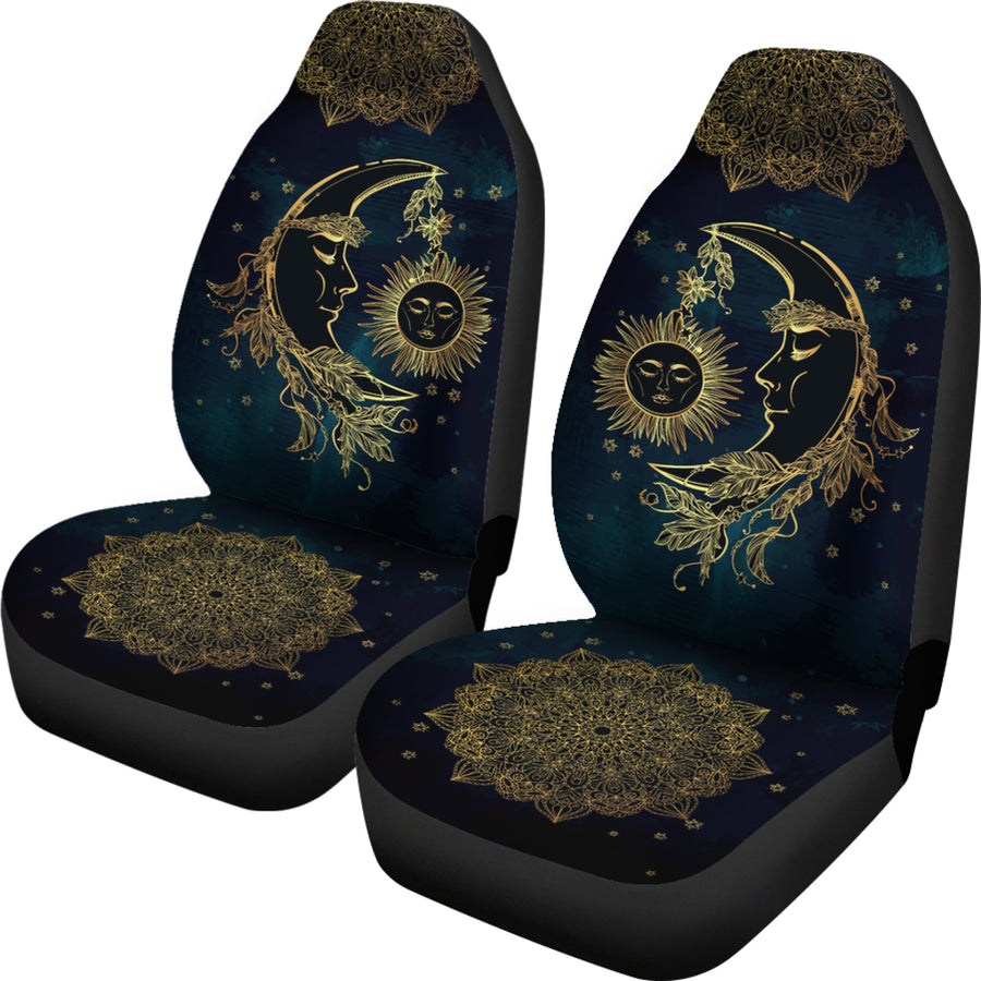Sun Moon - Car Seat Covers