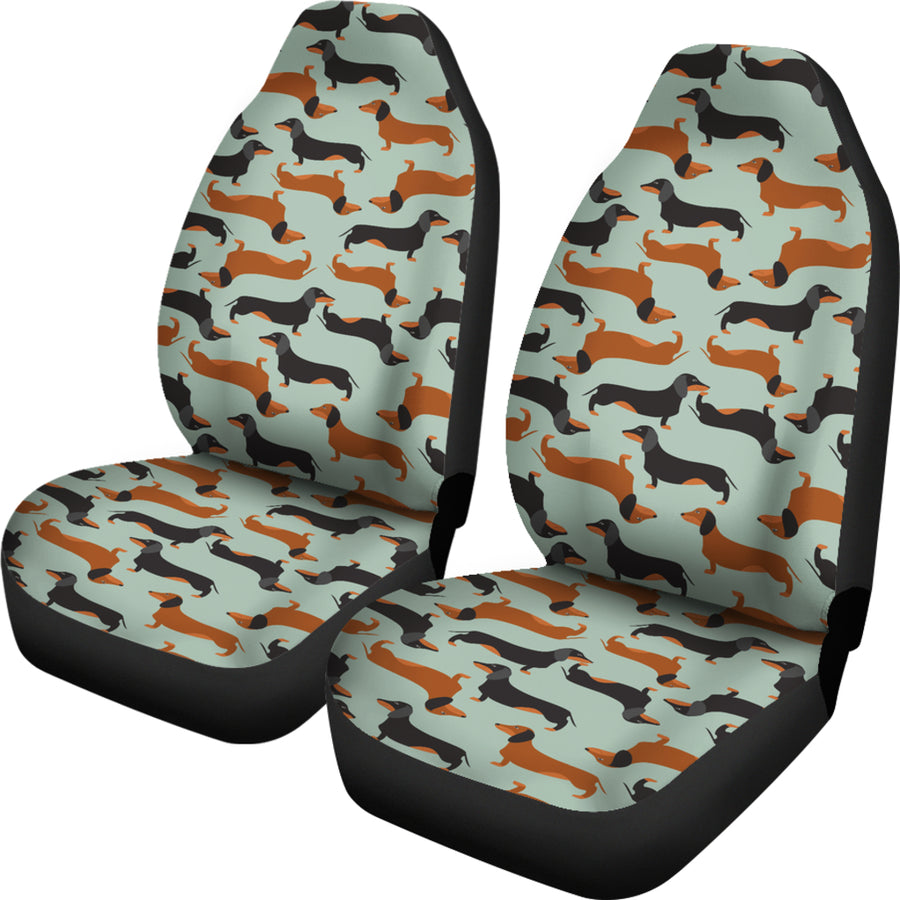 Dachshund - Car Seat Covers - (Set of 2)