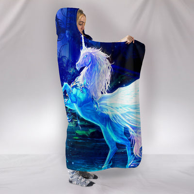 Unicorn - Hooded Blanket