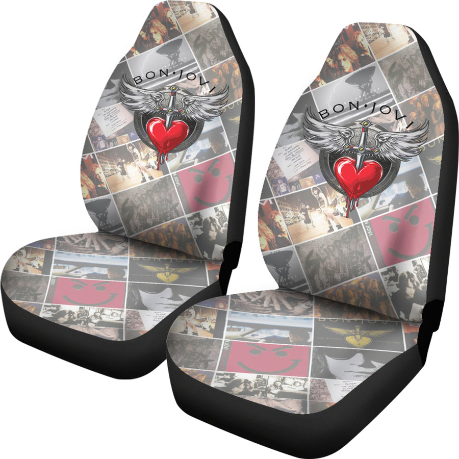 Bon Jovi - Car Seat Covers (Set of 2)