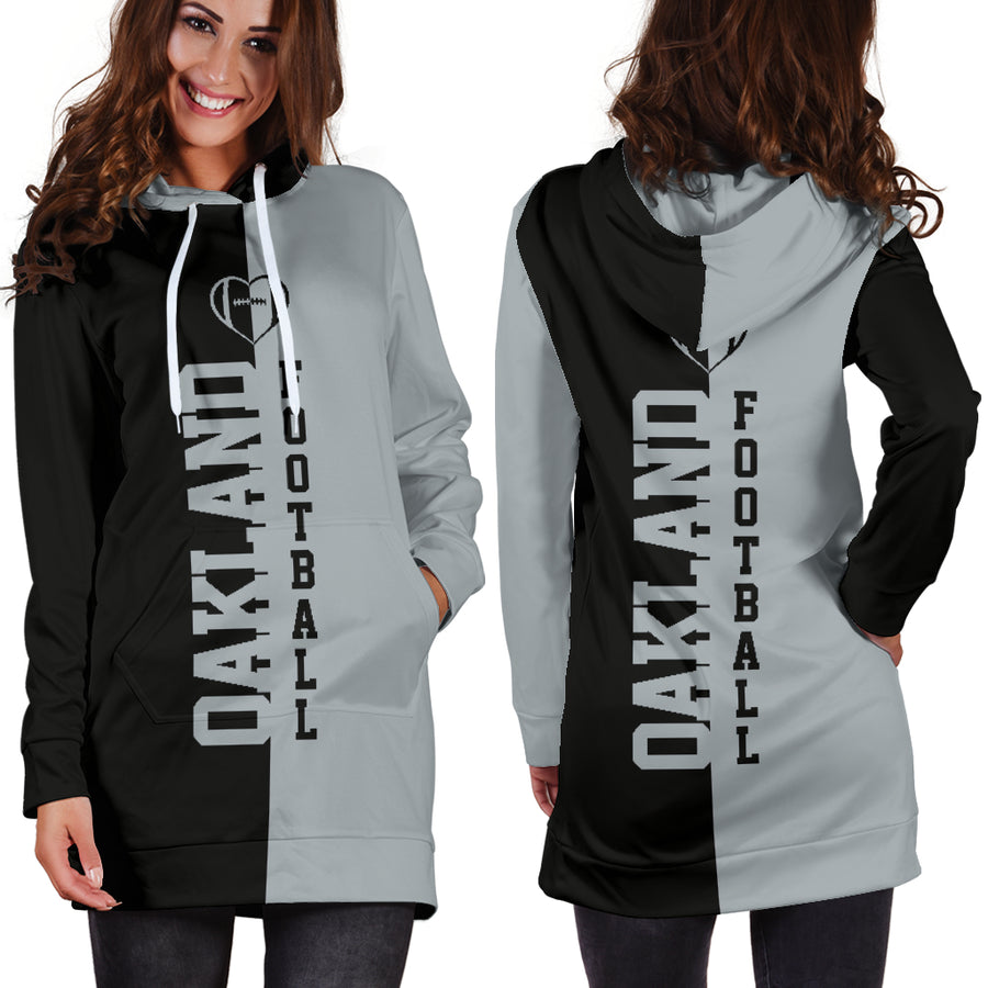 Oakland Football - Hoodie Dress