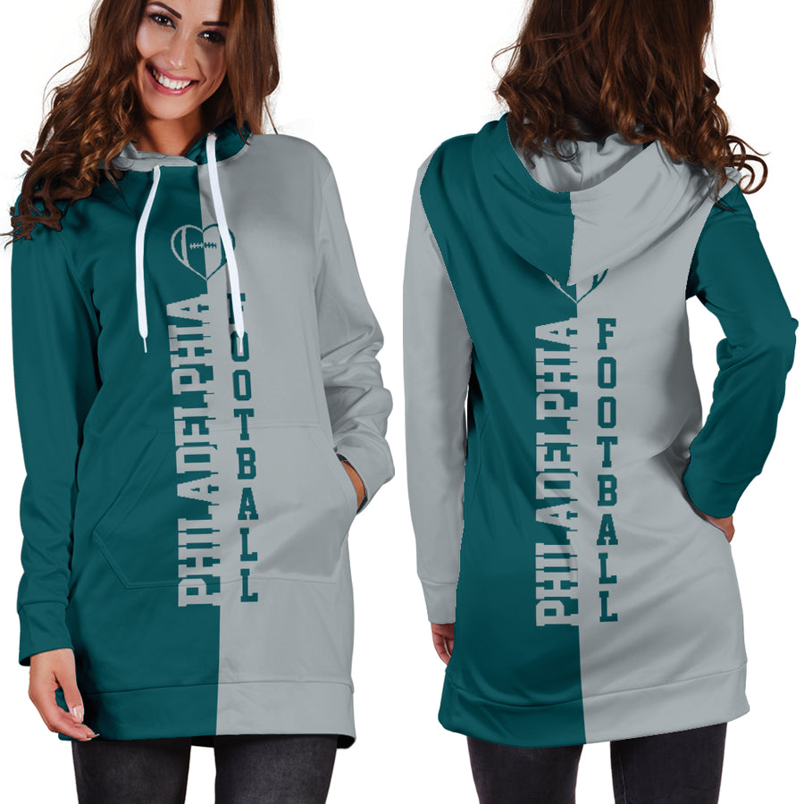Philadelphia Football - Hoodie Dress