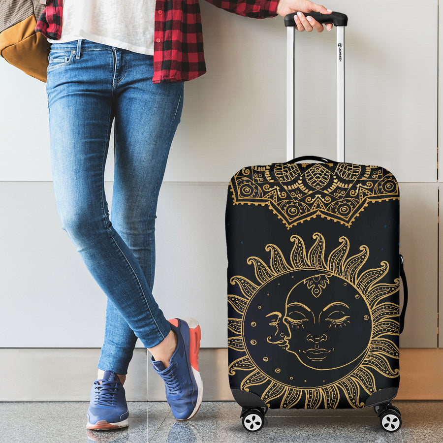 Sun Moon - Luggage Covers