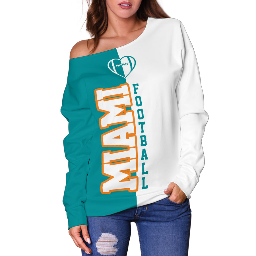 Miami - Off Shoulder Sweater
