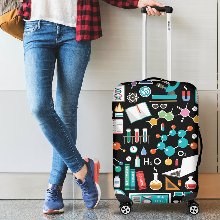 Science Pattern - Luggage Covers