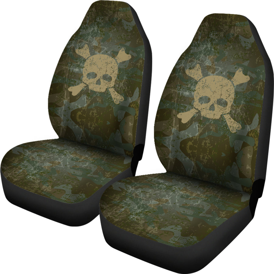 Skull & Crossbones Car Seat Covers (Set of 2)