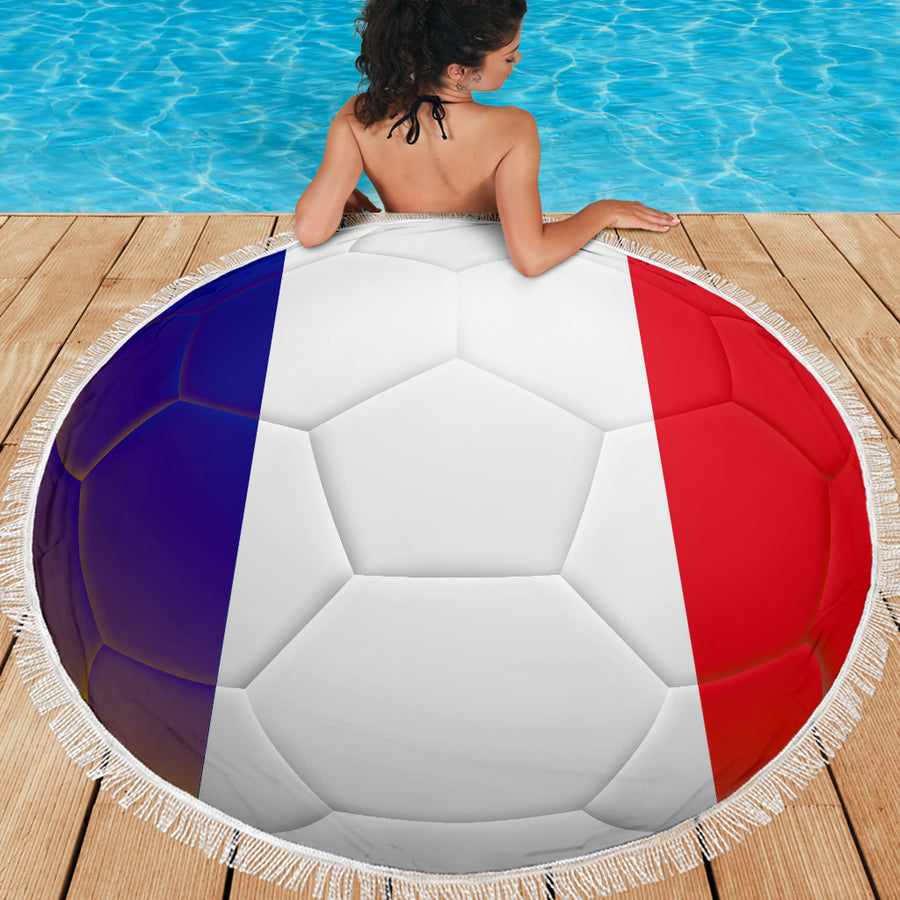 France World Cup - Beach Blanket
