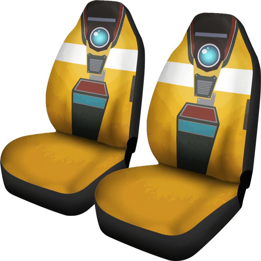 Borderlands Claptrap - Car Seat Cover