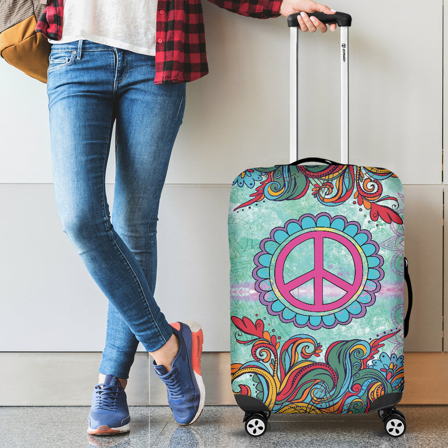 Hippie Peace - Luggage Covers