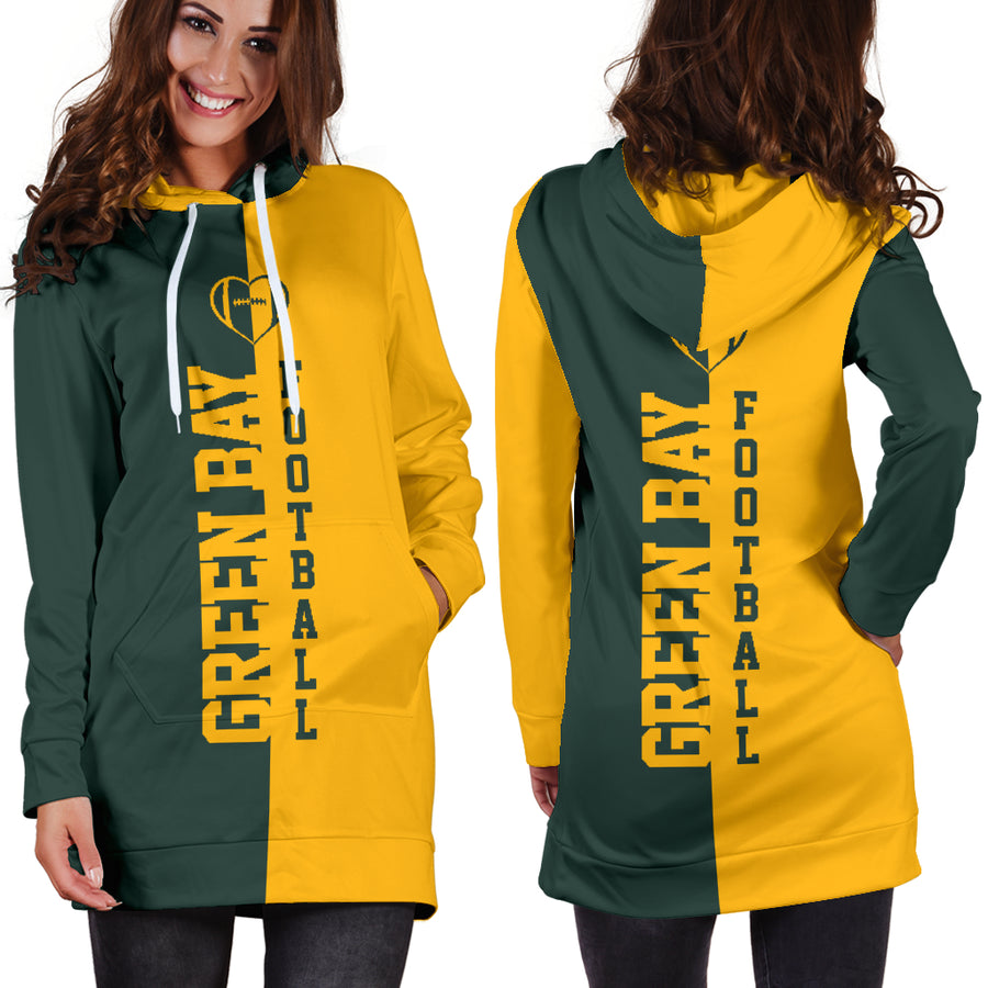 Green Bay Football - Hoodie Dress