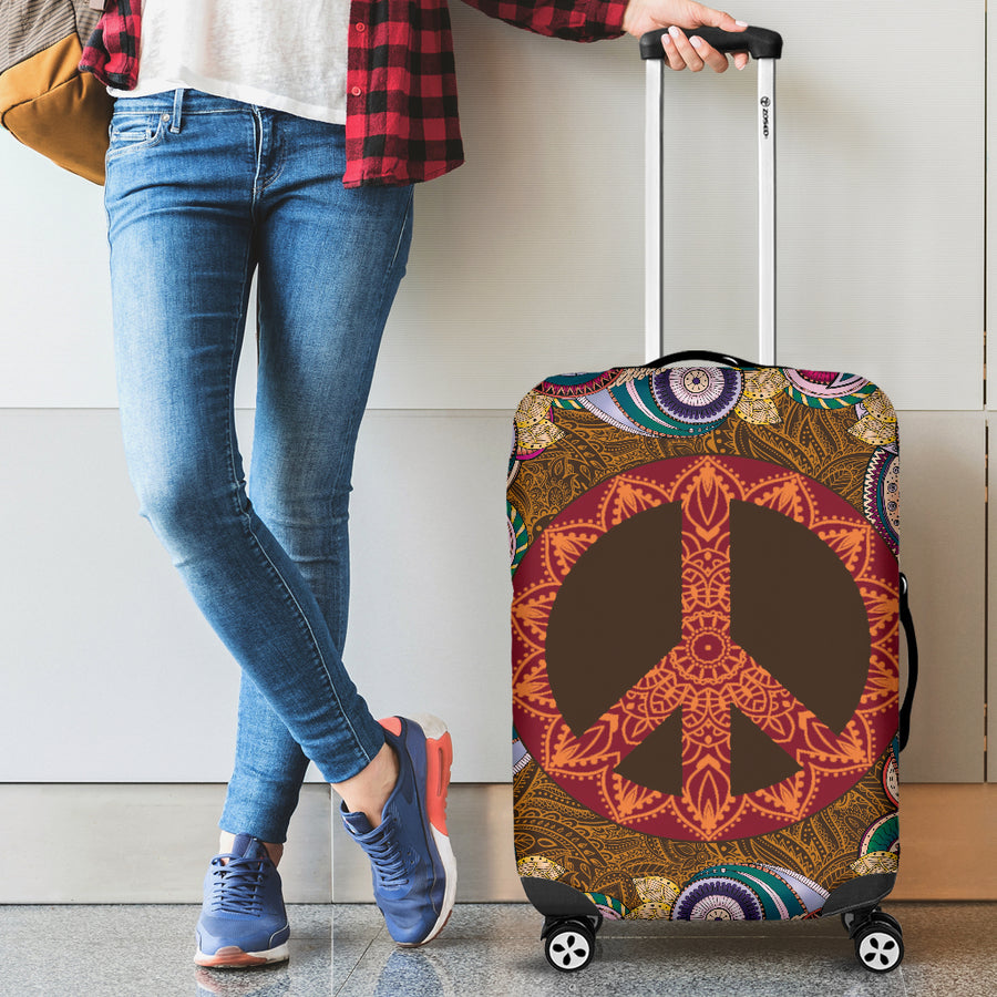 Mandala Peace - Luggage Covers