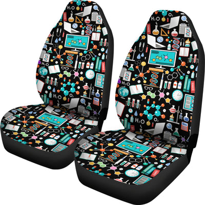 Science Pattern - Car Seat Cover (Set of 2)