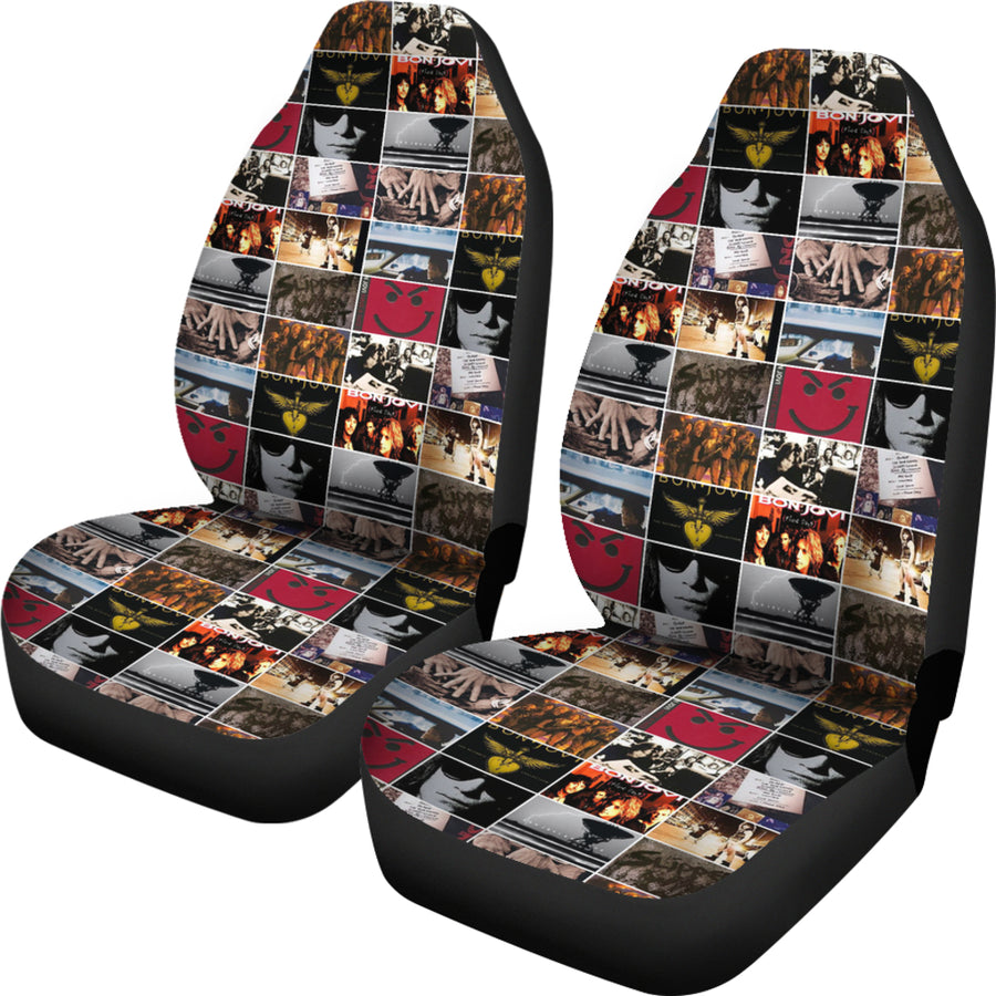 Ultimate Bon Jovi Fan Car Seat Covers (Set of 2)