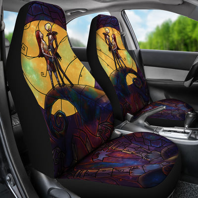 Stained Glass TNBC - Car Seat Covers - (Set of 2)